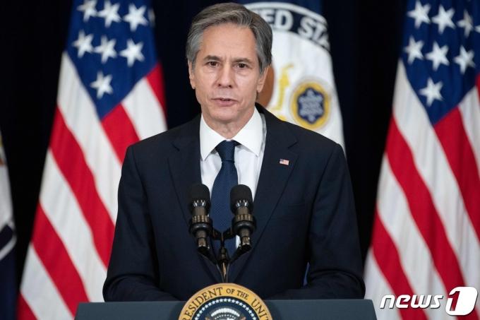 토니 블링컨 미국 국무장관. © AFP=뉴스1 © News1 우동명 기자