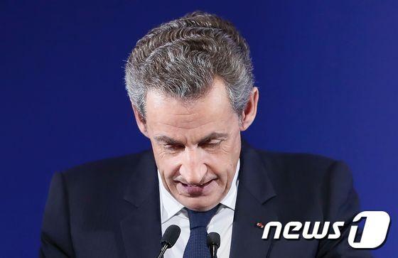 니콜라 사르코지 전 프랑스 대통령. © AFP=뉴스1 © News1 우동명 기자