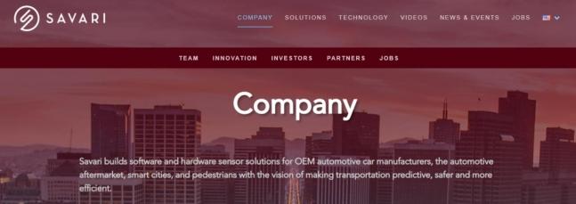 삼성전자가 자동차 전장(전자장비) 사업을 강화하기 위해 미국의 미래차 솔루션 개발업체인 '사바리'를 인수한다. /사진=사바리 홈페이지 캡쳐