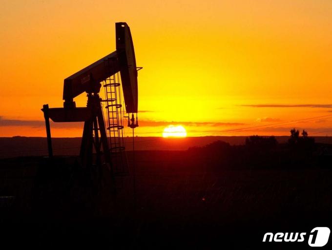 미국 석유시추설비/AFP=뉴스1