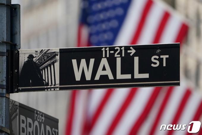 미국 맨해튼 월스트리트에 위치한 뉴욕증권거래소(NYSE). © 로이터=뉴스1 © News1 유새슬 기자