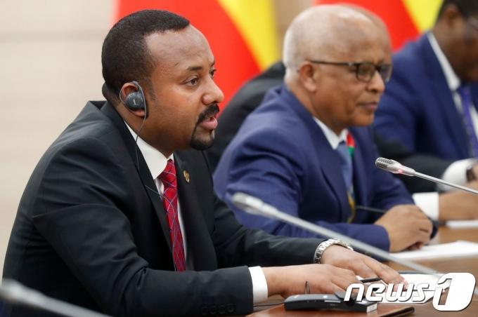 아비 아머드 알리 에티오피아 총리. © AFP=뉴스1 © News1 우동명 기자