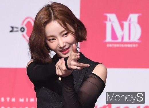 걸그룹 모모랜드 출신 배우 연우가 의미심장한 SNS글을 남겼다. /사진=장동규 기자