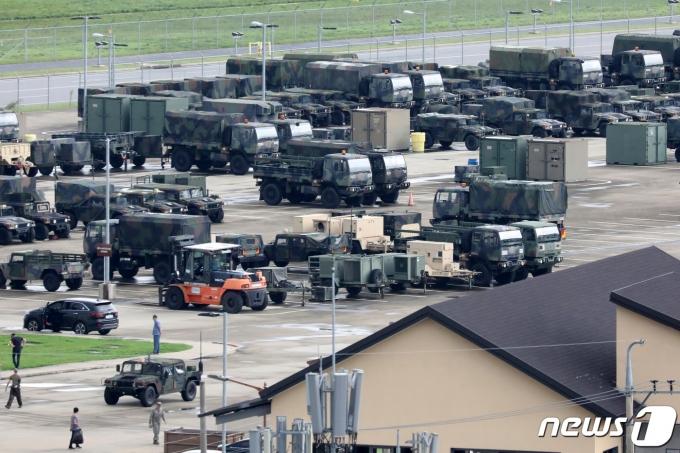 지난해 8월 한국과 미국 군은 예년보다 축소된 규모로 16일부터 28일까지 한미 연합 군사훈련을 진행했다. 2020.8.11/뉴스1 © News1 조태형 기자