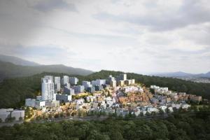 '서울 마지막 달동네' 백사마을 재개발… 2400가구 주거단지로
