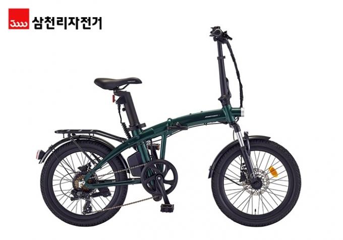 삼천리자전거가 4일 주행감과 안전 기능을 강화한 전기자전거 '팬텀 Q SF'를 출시했다. /사진제공=삼천리자전거