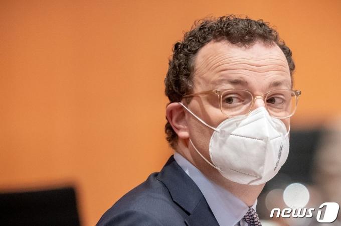 옌스 슈판 독일 보건장관 <자료사진> © 로이터=뉴스1