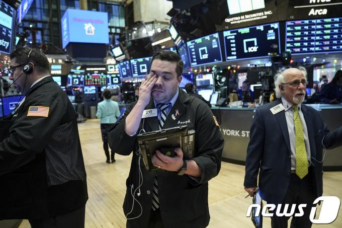 뉴욕증권거래소(NYSE).©AFP=뉴스1