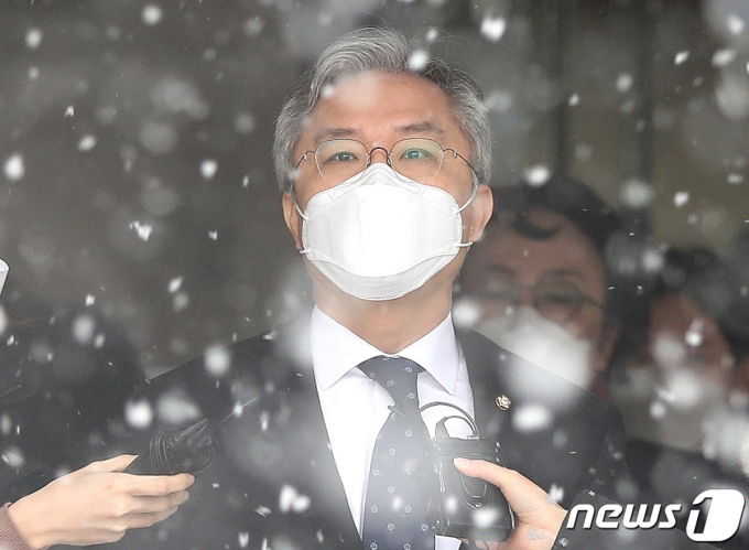 최강욱 열린민주당 대표 © News1 박지혜 기자