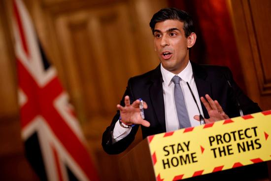 영국 정부가 2022년도 예산안에 법인세율 상향안을 포함했다. 사진은 리시 수낙 영국 재무장관이 지난 3일 영국 런던 다우닝가 10번지에서 열린 가상 기자회견에 참석한 모습. /사진=로이터