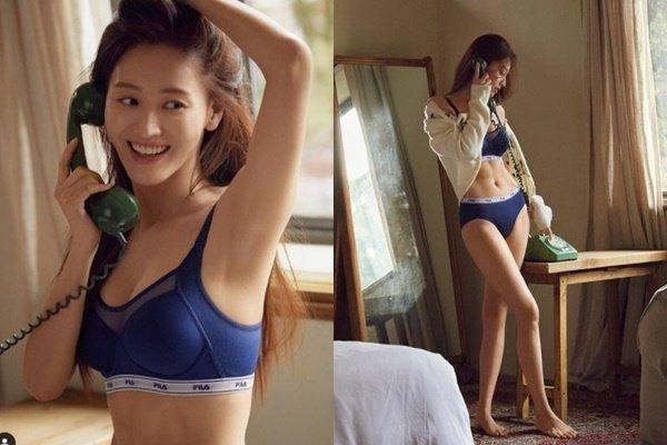 """""""속옷만 입고 뭐해?""""… 김재경, 탄탄+볼륨 몸매 '아찔'"""