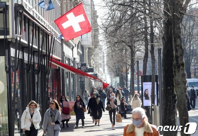 스위스 취리히 © 로이터=뉴스1