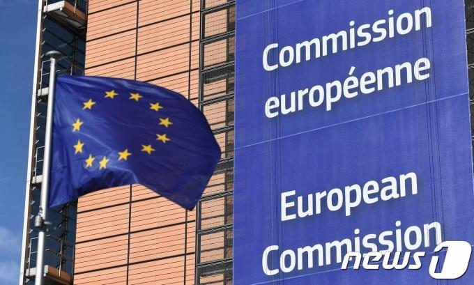 유럽연합(EU) 깃발 © AFP=뉴스1