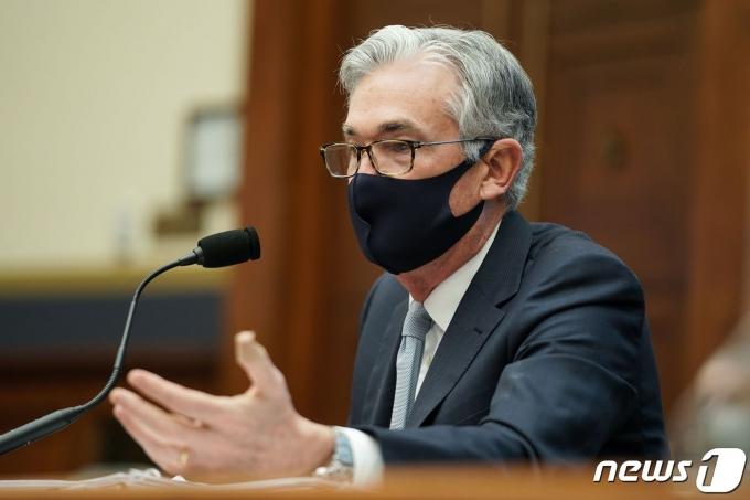 제롬 파월 미국 연방준비제도 의장. © AFP=뉴스1 © News1 자료 사진