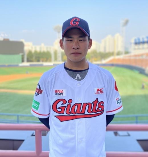 롯데자이언츠 김진욱이 오는 20일 키움 히어로즈와 경기에서 선발 등판한다./사진=롯데자이언츠