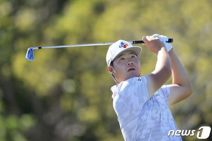 PGA 투어 임성재가 아널드 파머 인비테이셔널 2라운드에서도 상위권에 올랐다. © AFP=뉴스1