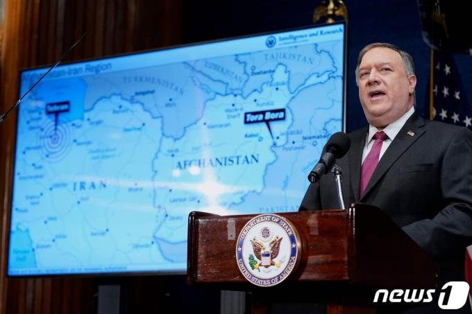 마이크 폼페이오 전 미국 국무장관 <자료사진> © AFP=뉴스1 © News1 우동명 기자
