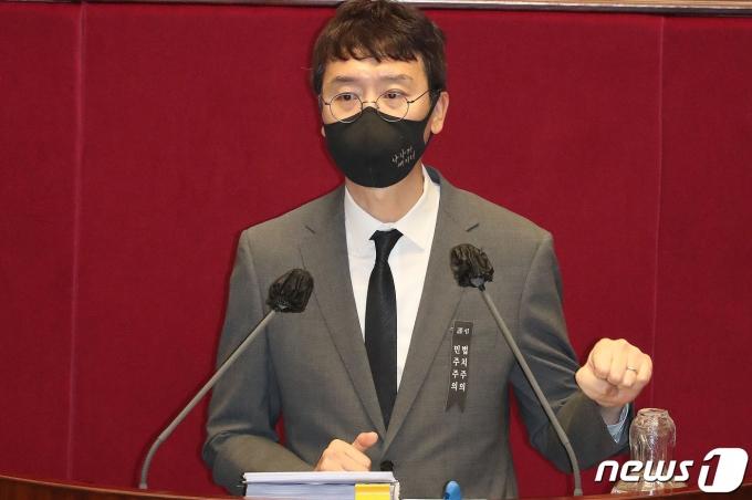 국민의힘 김웅 의원 2020.12.11/뉴스1 © News1 박세연 기자