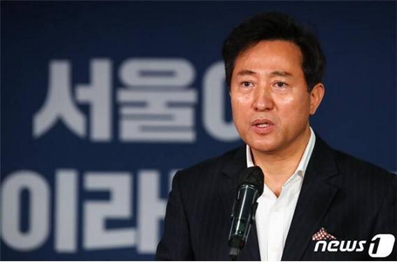 """오세훈 """"박영선, 원조 친문의 특징이자 내로남불 DNA의 전형"""""""