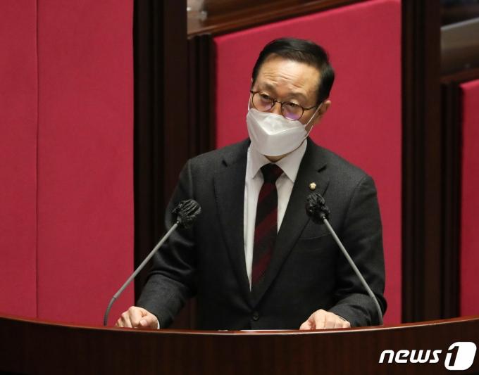 홍영표 더불어민주당 의원./뉴스1 © News1 신웅수 기자