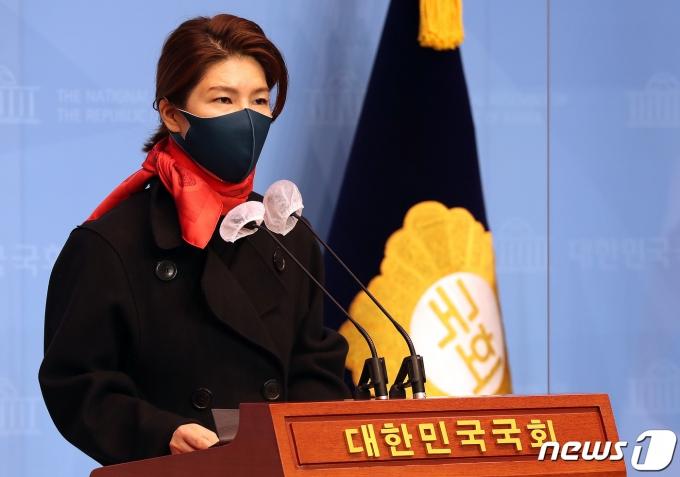 김예령 국민의힘 대변인. 2020.12.24/뉴스1 © News1 박세연 기자