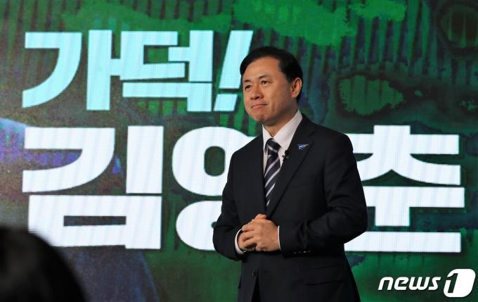 김영춘 더불어민주당 부산시장 후보./뉴스1 © News1 여주연 기자