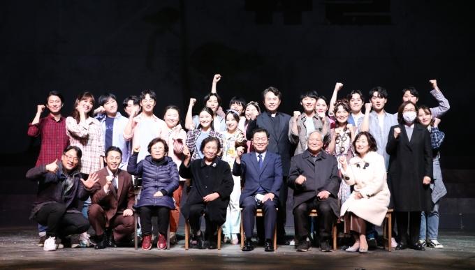 광명시는 1987년 6월 민주항쟁을 주제로 한 창작뮤지컬 '유월' 공연을 성황리에 마쳤다고 7일 밝혔다. / 자료제공=광명시
