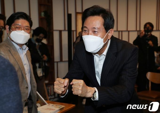 오세훈 국민의힘 서울시장 후보/뉴스1 © News1 성동훈 기자