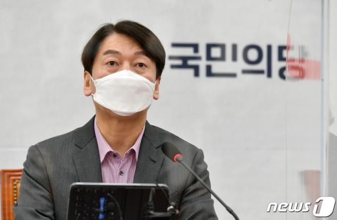 안철수 국민의당 후보/뉴스1 © News1 성동훈 기자