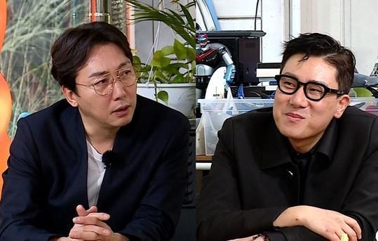 방송인 이상민이 탁재훈의 결혼 비화를 폭로했다. /사진=SBS 제공