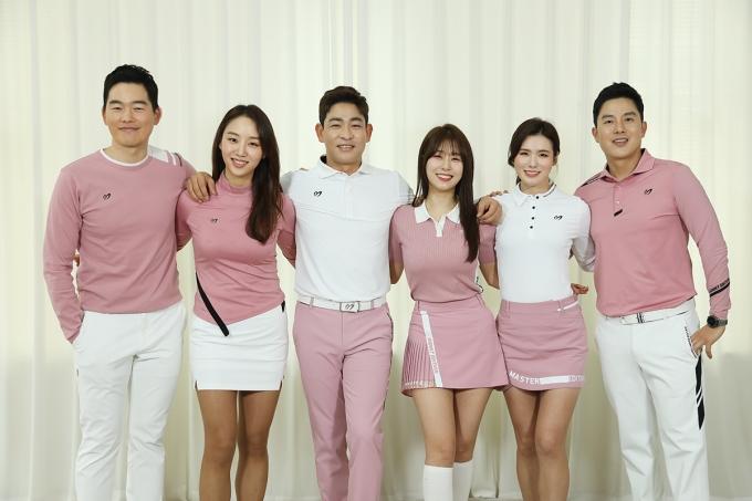 ▲이시우,김혜리,박상준,박하명,박진이,안성현(좌측부터)©SBS골프
