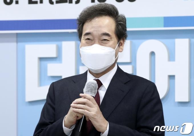이낙연 더불어민주당 대표가 9일 당 대표 퇴임 기자회견을 연다. /사진=뉴스1