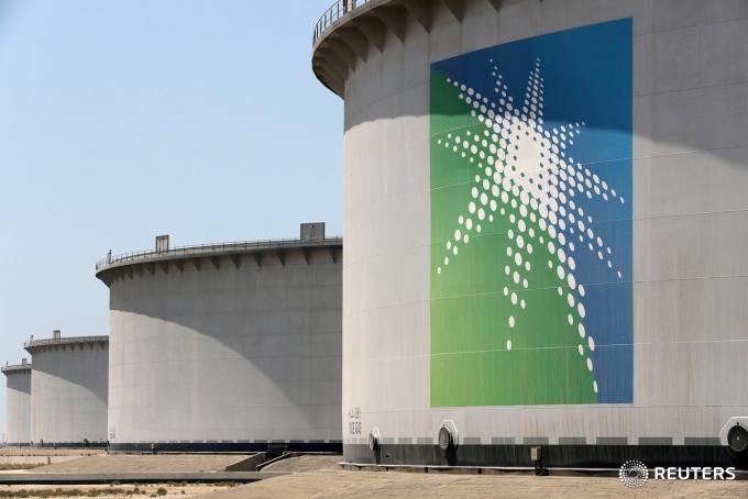 사우디아라비아 국영석유기업 아람코의 석유탱크.©로이터=News1