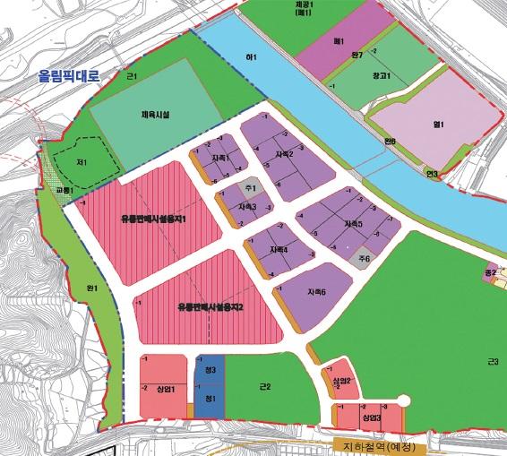 서울 강동구는 지난 2월19일 고덕비즈밸리 내 자족기능시설용지에 대한 제8차 용지공급공고를 시행했다고 밝혔다. 4월19일까지 기업 대상으로 사업계획서를 접수받는다. / 사진제공=강동구