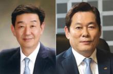 (왼쪽부터) 임진구, 정진문 SBI저축은행 대표이사 사장 /사진=SBI저축은행