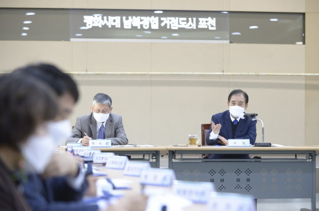 포천시(시장 박윤국)는 2022년도 국·도비 건의사업 32건으로 총 사업비 3659억원 확보에 총력을 다하고 있다고 9일 밝혔다. / 사진제공=포천시