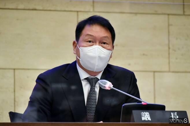 최태원 서울상공회의소 회장. / 사진=장동규 기자