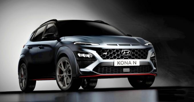 코나의 고성능 모델 '코나 N'이 곧 출시된다. /사진제공=현대자동차