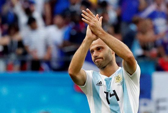 아르헨티나 출신의 세계적인 미드필더 하비에르 마스체라노가 과거 '태업' 논란에 대해 리버풀 측이 잘못했다고 지적했다. /사진=로이터