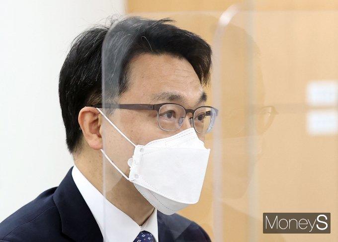 [머니S포토] 김진욱 공수처장, 제1차 인사위원회 발언