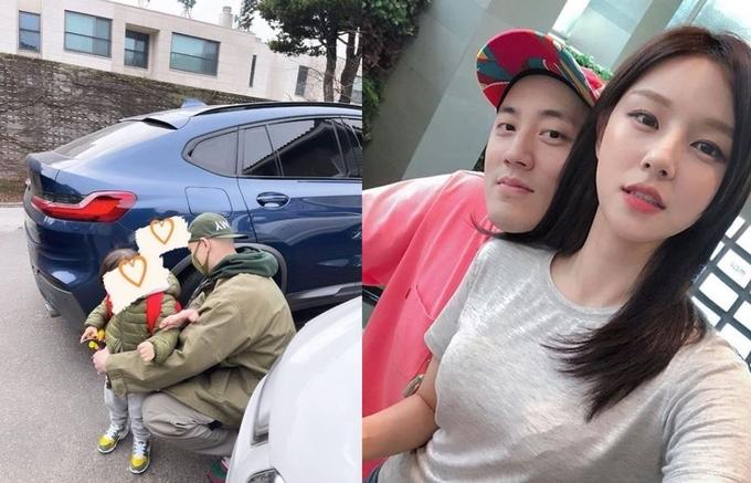 아나운서 출신 조수애가 남편, 아들과 함께하는 사진을 공개했다. /사진=조수애 인스타그램