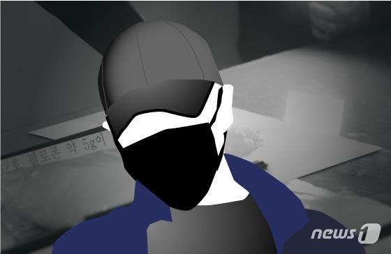 """30대 남성이 """"마약을 투여했다""""며 경찰에 자진신고한 뒤 도주를 시도하다가 경찰에 붙잡혔다./사진=뉴스1 김일환 디자이너"""