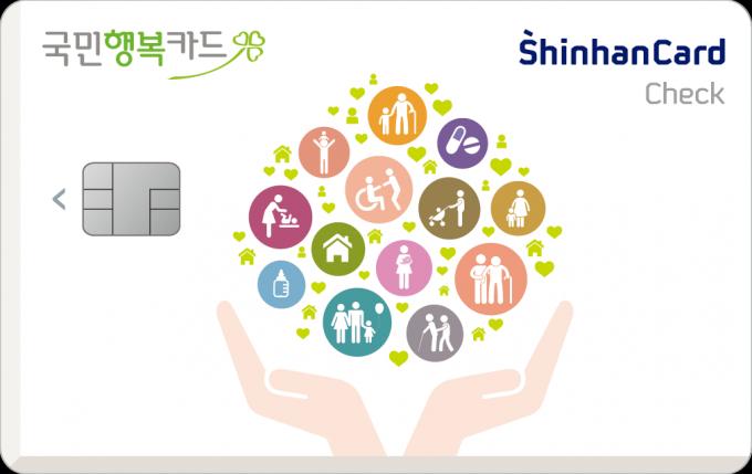 신한 국민행복카드./사진=신한카드