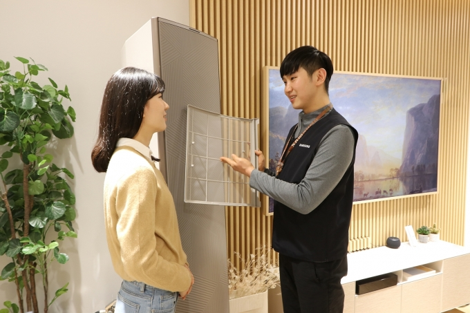삼성전자서비스가 에어컨 사전점검 서비스를 실시한다. /사진=삼성전자서비스