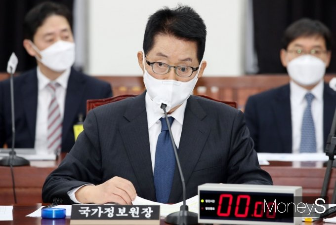 [머니S포토] 정보위 전체회의…국정원 불법사찰 조사계획 보고 받아
