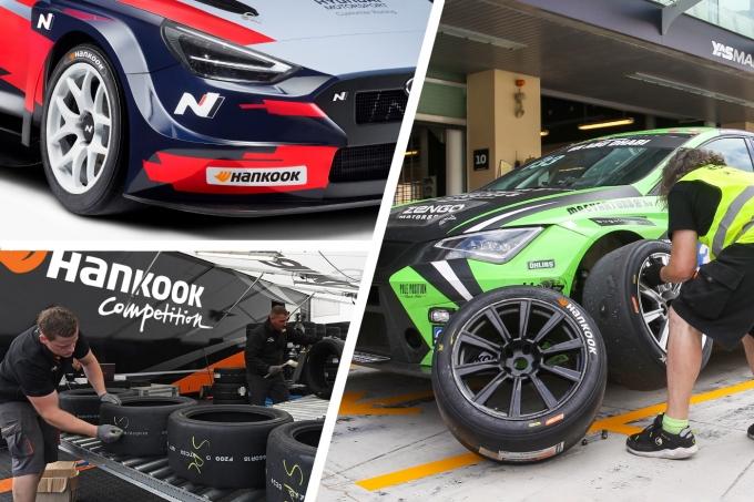 한국타이어앤테크놀로지(한국타이어)가 2021 시즌부터 세계 최정상 투어링카 모터스포츠 대회인 TCR 시리즈 중 TCR 유럽, TCR 동유럽 2개 지역 대회와 TCR 스페인 로컬 대회에 레이싱 타이어를 독점 공급한다. /사진제공=한국타이어