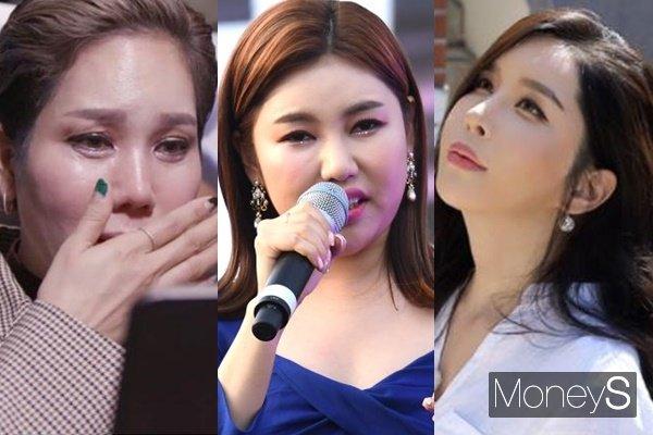 가수 김송, 송가인, 하리수도 악플러를 향해 경고했다. /사진=EBS 제공, 장동규 기자, KBS 제공