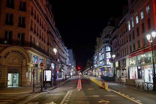 프랑스 파리가 오는 20일부터 4주 동안 봉쇄에 들어간다. /사진=로이터