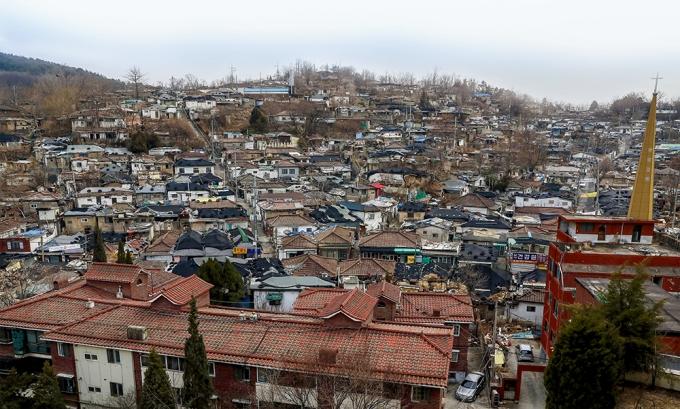 서울의 마지막 달동네 노원구 백사마을. /사진=뉴스1