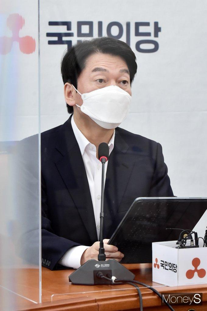 안철수 국민의당 후보가 단일화 경선 패배를 인정했다./ 사진=임한별 기자